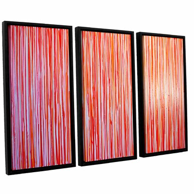 Date Night 3 Piece Framed Painting Print Set Size: 24