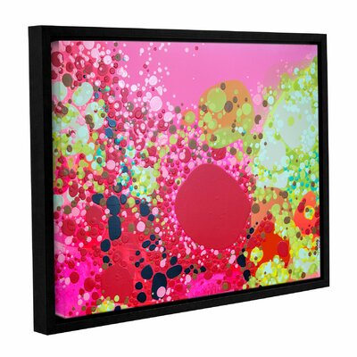 Long Kiss Framed Painting Print Size: 14