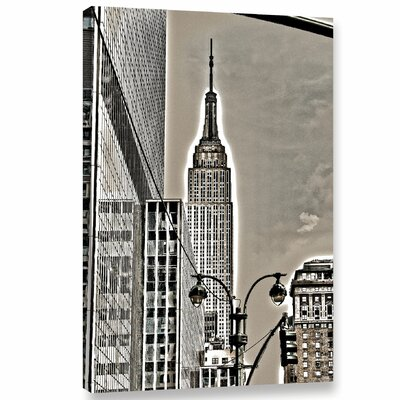 Empire Noir II Graphic Art on Wrapped Canvas