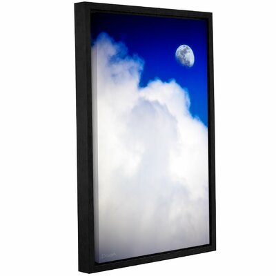 Silver Lining Framed Photographic Print Size: 18