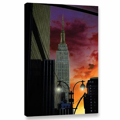 Midtown Piano Graphic Art on Wrapped Canvas