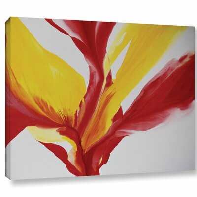Brimming II Painting Print on Wrapped Canvas Size: 14