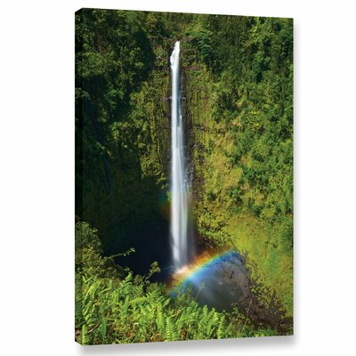 Rainbow Falls Photographic Print on Wrapped Canvas