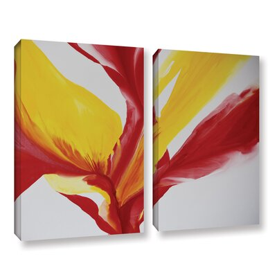 Brimming II 2 Piece Painting Print on Wrapped Canvas Set