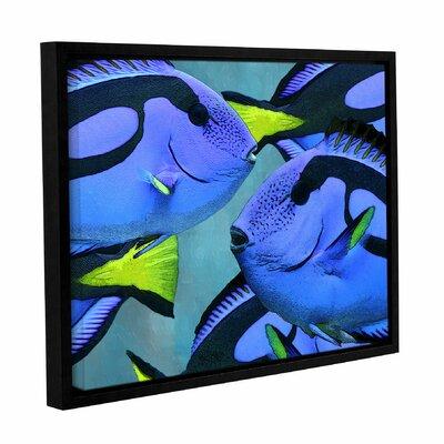 Blue Tang Framed Graphic Art