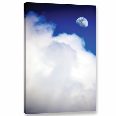 Silver Lining Photographic Print on Wrapped Canvas Size: 18