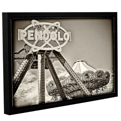 Boardwalk Rides Framed Photographic Print