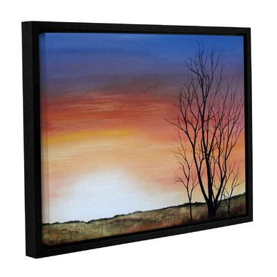 Happy Hour Framed Painting Print Size: 14