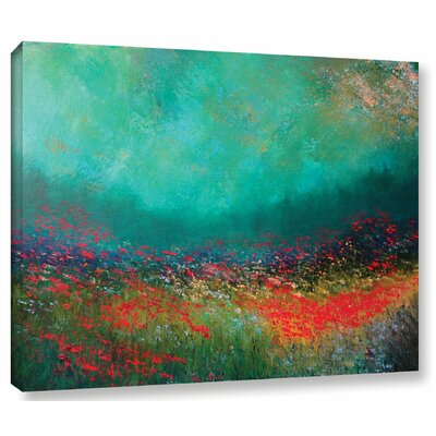 Silent Fanfare Painting Print on Wrapped Canvas