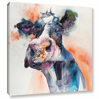 Cow 27 Painting Print on Wrapped Canvas
