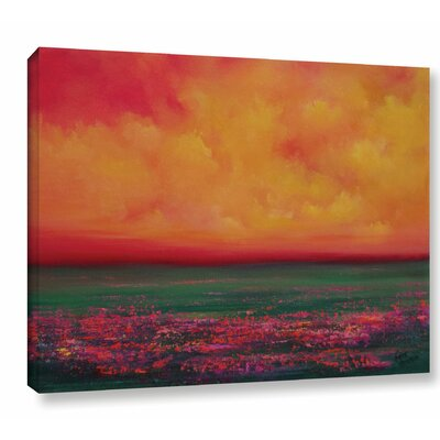 Beguiling Painting Print on Wrapped Canvas Size: 14