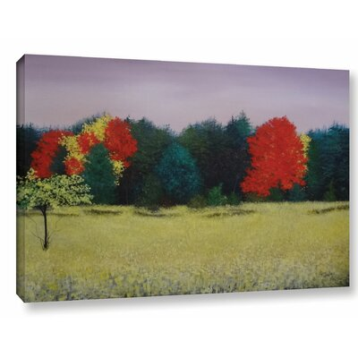 Effervescent Painting Print on Wrapped Canvas Size: 12
