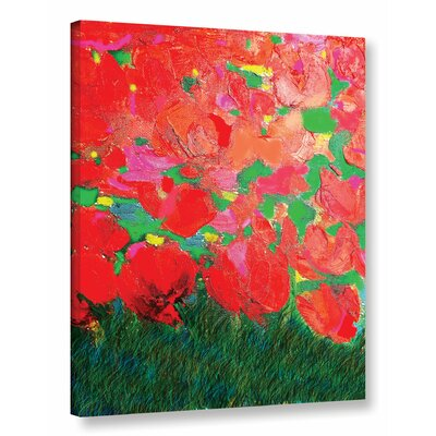 The Color Of Life Painting Print on Wrapped Canvas Size: 18