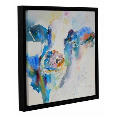 Cow 25 Framed Painting Print Size: 10