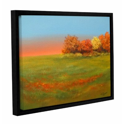 Marsh Glow Framed Painting Print
