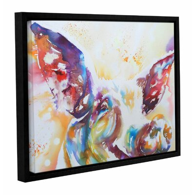 Jazz Pig Framed Painting Print