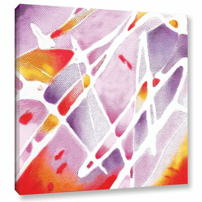 Purple Haze Painting Print on Wrapped Canvas Size: 10