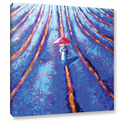 Lost in Provence Painting Print on Wrapped Canvas Size: 10