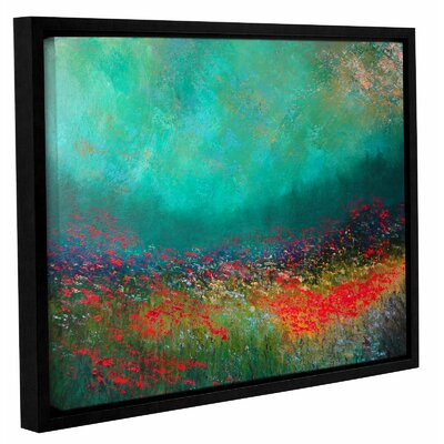Silent Fanfare Framed Painting Print Size: 14
