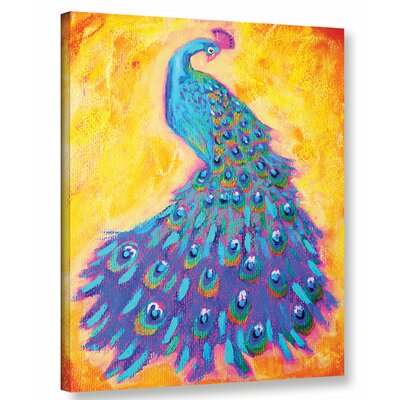 Proud N' Pretty Painting Print on Wrapped Canvas Size: 18