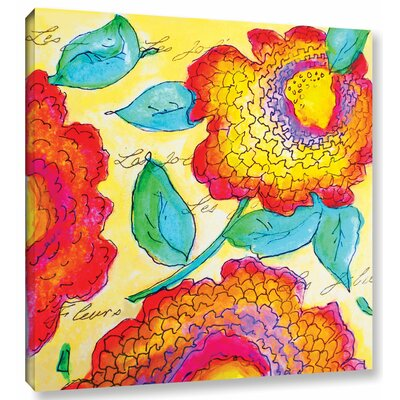 Les Jolies II Painting Print on Wrapped Canvas Size: 10