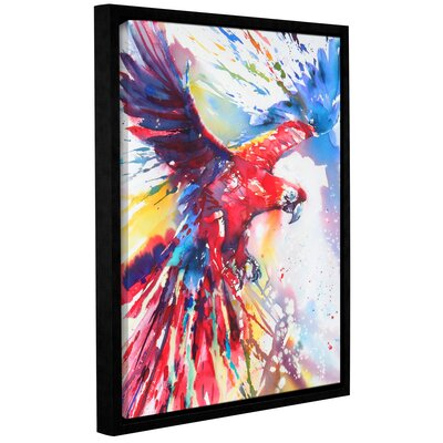 Parrot 2 Framed Painting Print