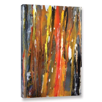 Lava Palaver Painting Print on Wrapped Canvas