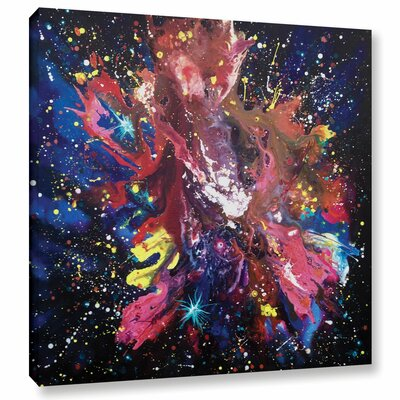 BOOM! Painting Print on Wrapped Canvas