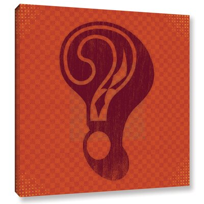 Question Graphic Art on Wrapped Canvas
