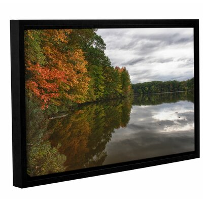 Fall in Ohio Framed Photographic Print Size: 12