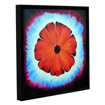 Flower Burst 1 Framed Painting Print