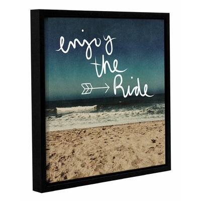 Enjoy the Ride Framed Graphic Art