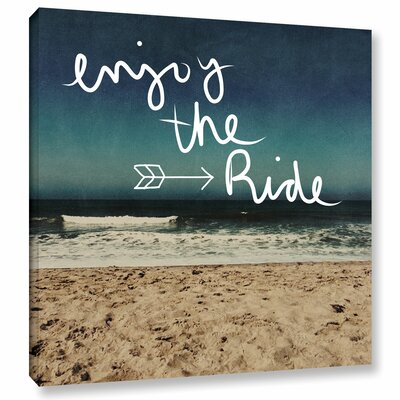 Enjoy the Ride Graphic Art on Wrapped Canvas