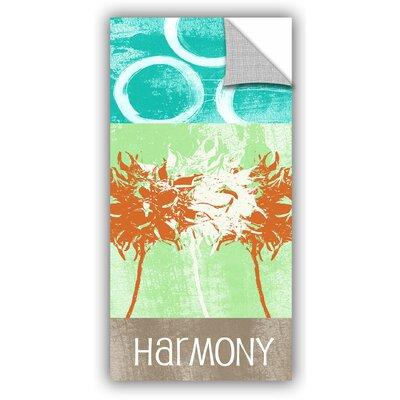 "Harmony Graphic Art Size: 48"" H x 24"" W x 0.1"" D LTRN7161 30807733"