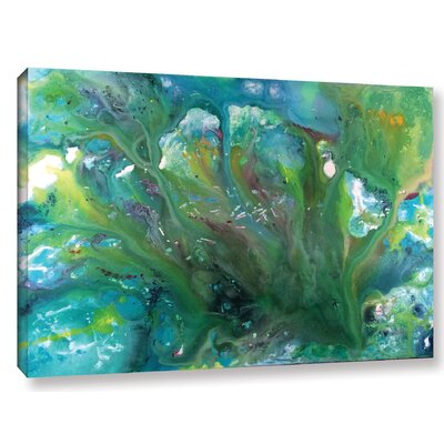 Serene Painting Print on Wrapped Canvas