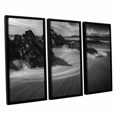 An Amazing Shadow 3 Piece Framed Photographic Print