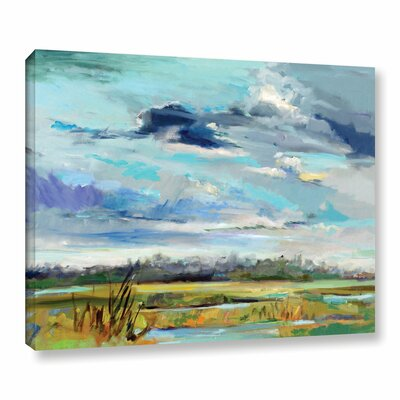 Marsh Skies Original Painting on Wrapped Canvas