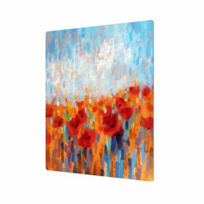 Poppy Walk Painting Print Size: 18
