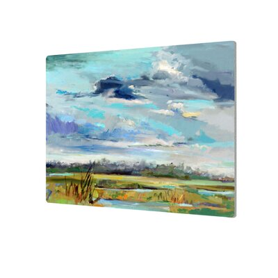 Marsh Skies Original Painting