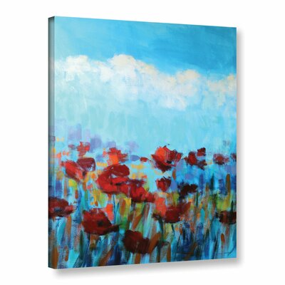 Garden of Delights Painting Print on Wrapped Canvas Size: 18