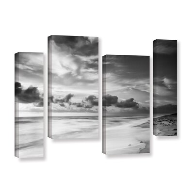 Atlantic Sunrise No.20 4 Piece Photographic Print on Wrapped Canvas Set