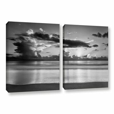 Atlantic Sunrise No.19 2 Piece Photographic Print on Wrapped Canvas Set