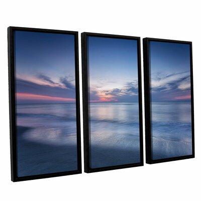 Atlantic Sunrise No.7 3 Piece Framed Photographic Print Set