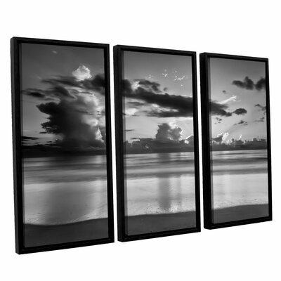 Atlantic Sunrise No.19 3 Piece Framed Photographic Print Set