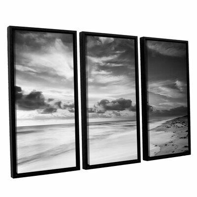 Atlantic Sunrise No.20 3 Piece Framed Photographic Print Set