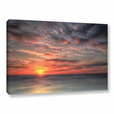 Atlantic Sunrise No.9 Photographic Print on Wrapped Canvas