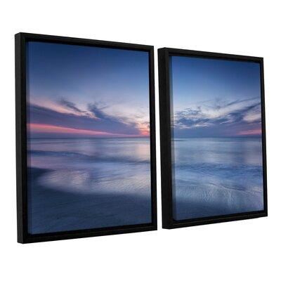 Atlantic Sunrise No.7 2 Piece Framed Photographic Print Set