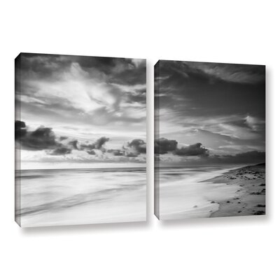 Atlantic Sunrise No.20 2 Piece Photographic Print on Wrapped Canvas Set