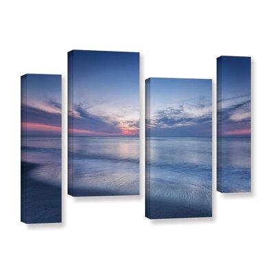 Atlantic Sunrise No.7 4 Piece Photographic Print on Wrapped Canvas Set
