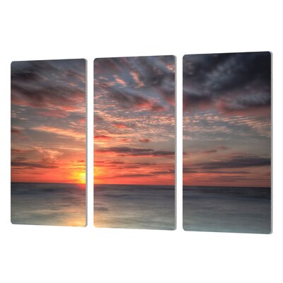 Atlantic Sunrise No.9 3 Piece Photographic Print Set